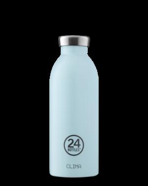 Cloud Blue Bottiglia Riutilizzabile Termica Acciaio Inossidabile