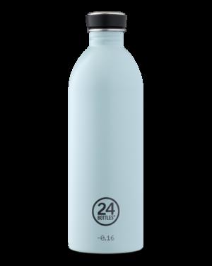 Cloud Blue Borraccia Bottiglia Termica