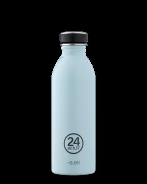 Cloud Blue Bottiglia Riutilizzabile Acciaio Inossidabile