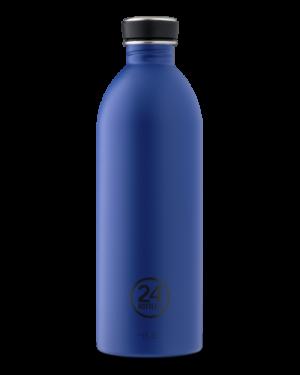 Gold Blue Bottiglia Acciaio Inossidabile