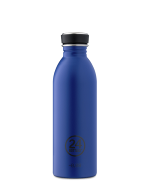 Gold Blue Bottiglia Riutilizzabile Acciaio Inossidabile