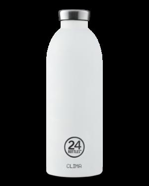 Ice White Bottiglia Riutilizzabile Termica Acciaio Inossidabile