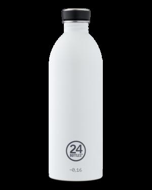 Ice White Bottiglia Riutilizzabile Acciaio Inossidabile