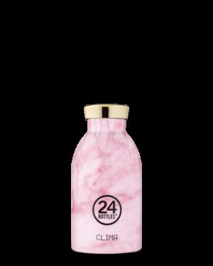 Pink Marble Bottiglia Riutilizzabile Acciaio Inossidabile
