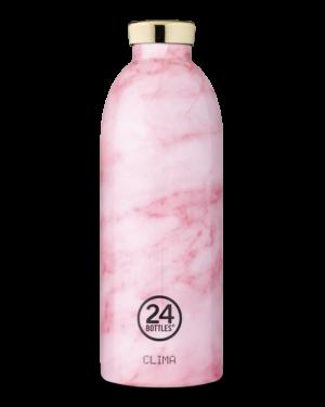 Pink Marble Bottiglia Riutilizzabile Termica