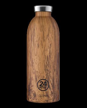 Sequoia Wood Bottiglia Riutilizzabile Termica