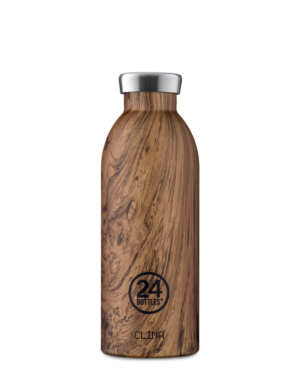 Sequoia Wood Borraccia Riutilizzabile Termica