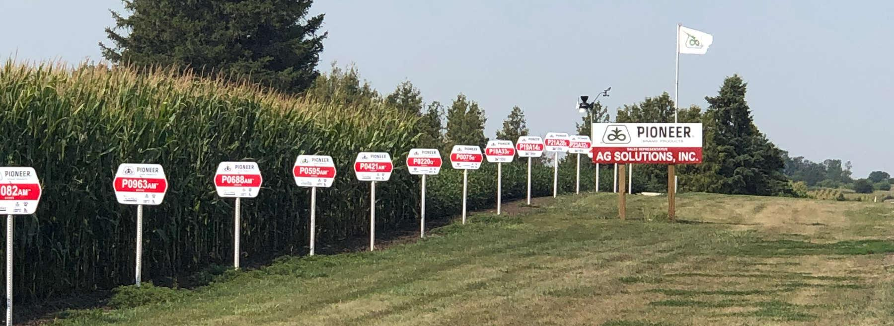 Ag Solutions Field Sign