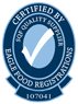 Certified by Eagle Food Registrations Logo