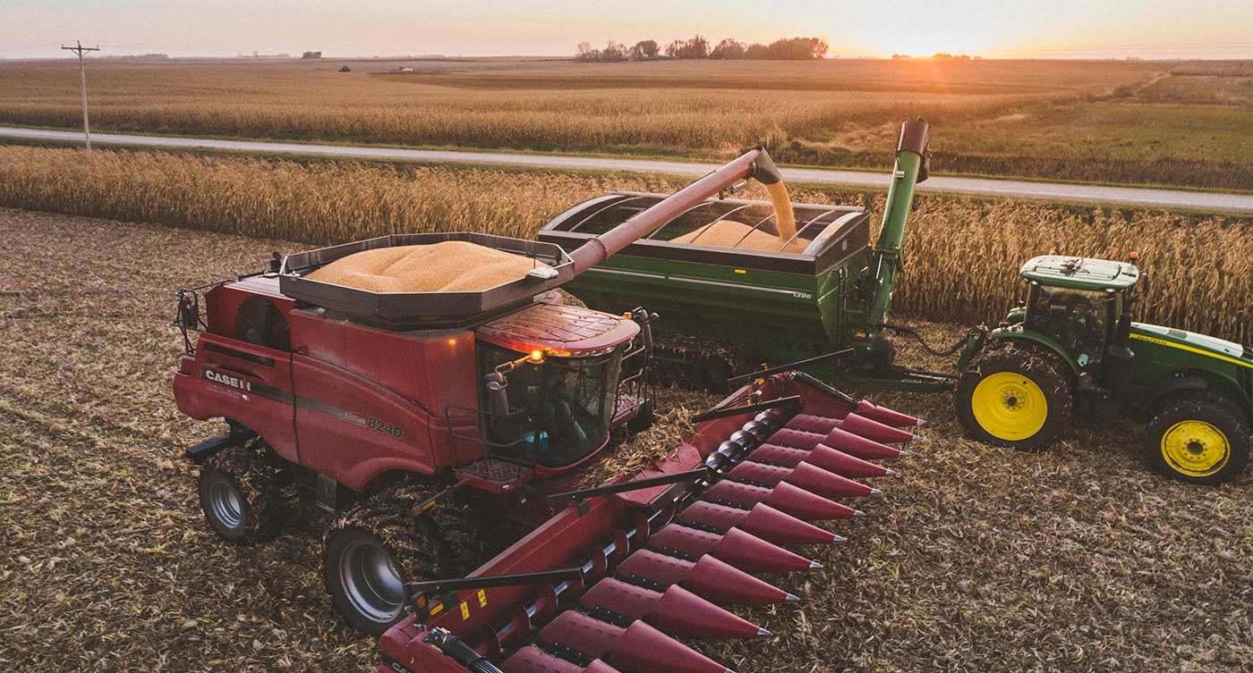 Header Yield 20181022 COR Corn Clear Lake Iowa 0060