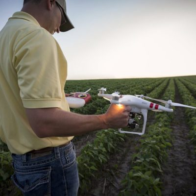 Drone Imagery and Aerial Field Mapping