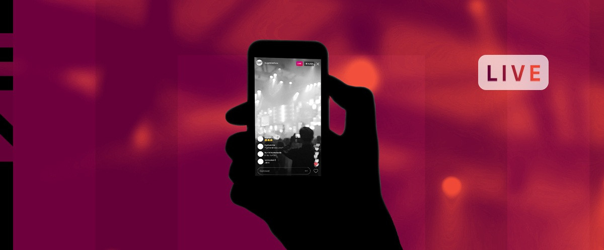 Phone live streaming