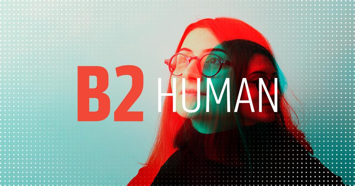 B2 Human Graphic