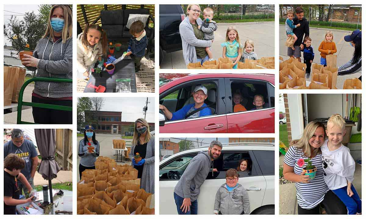 Two Rivers Mothers Day Drive By Event