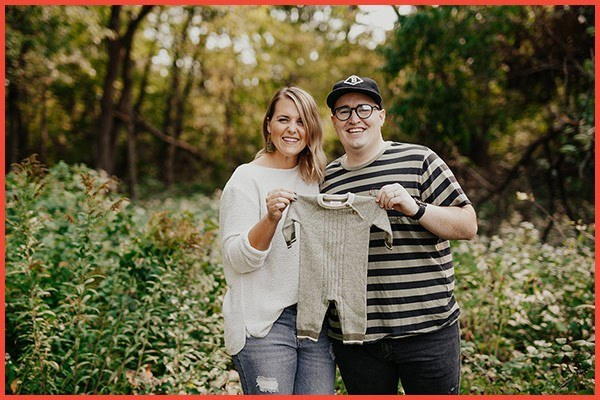 Two Rivers Associate Bennett Ford and His Wife's Baby Announcement