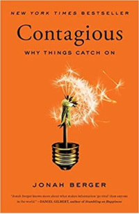 Book Cover of Contagious Why Things Catch On