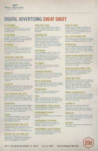 Digital Advertising Cheat Sheet