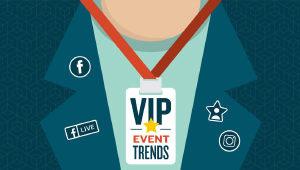 Social event trends for trade shows