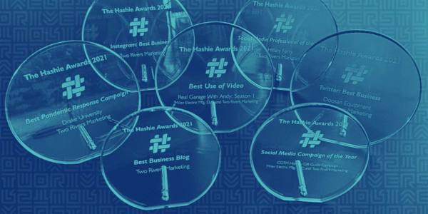 Two Rivers Wins Big in 2021 Hashie Awards for Social Media