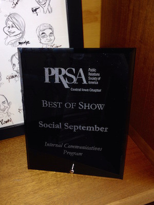 Best of Show PRSA Award