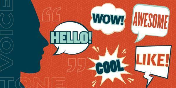 Mean what you say: the difference between brand voice and tone