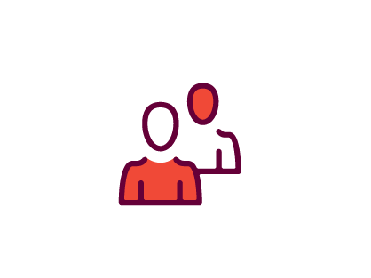 Two person icon