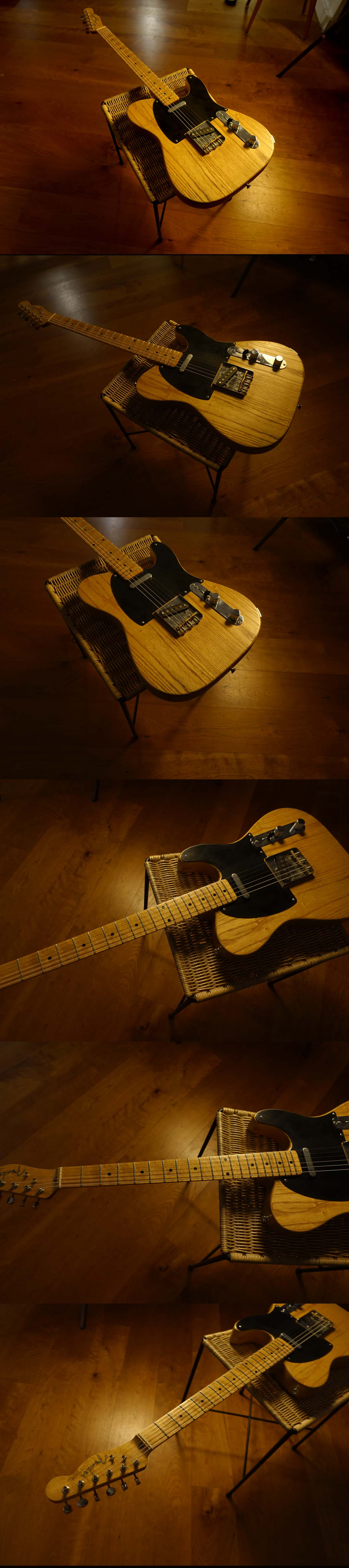 Warmoth Tele with Fender Lincence Parts (lightweight - great