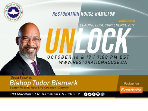 Leadership Edge Conference: UNLOCK with Pastor Tudor Bismark