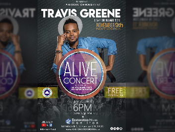 Alive Concert 2017 with Travis Greene
