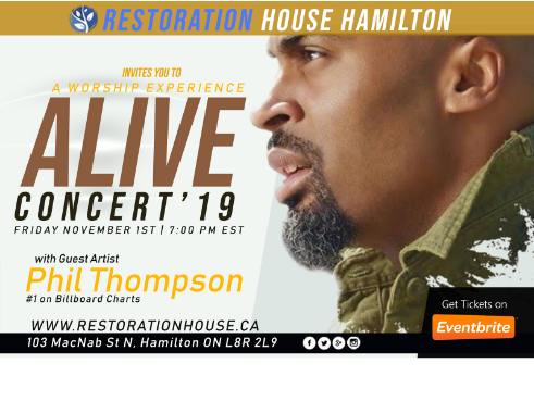 Alive Concert 2019 with Phil Thompson