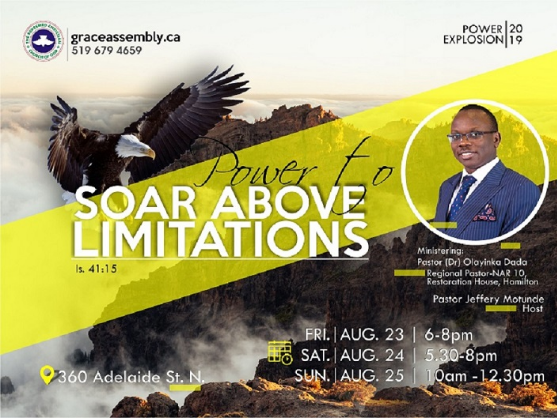Power Explosion - Power to Soar Above Limitations