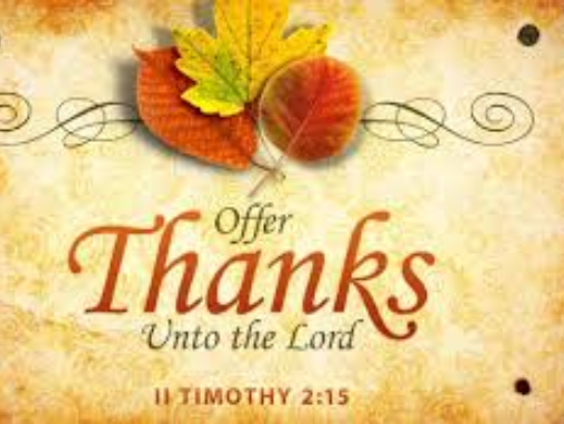 Thanksgiving (Part 2)