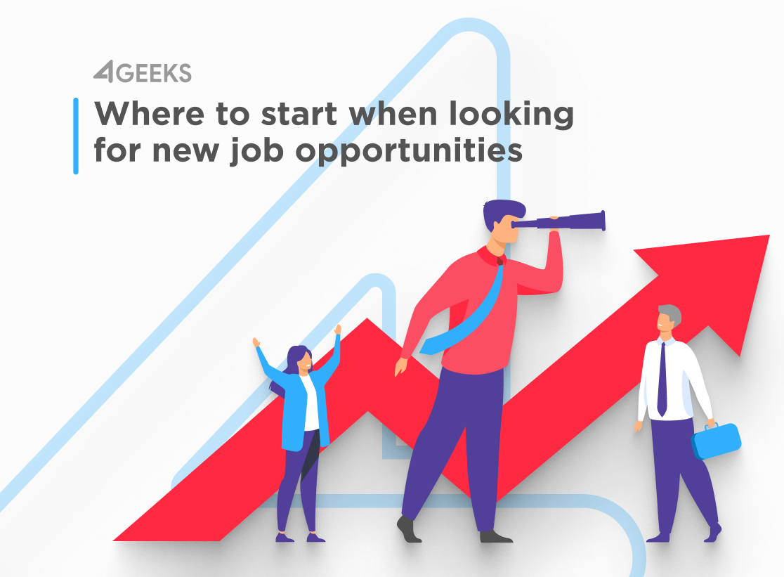 Where to start when looking for new job opportunities