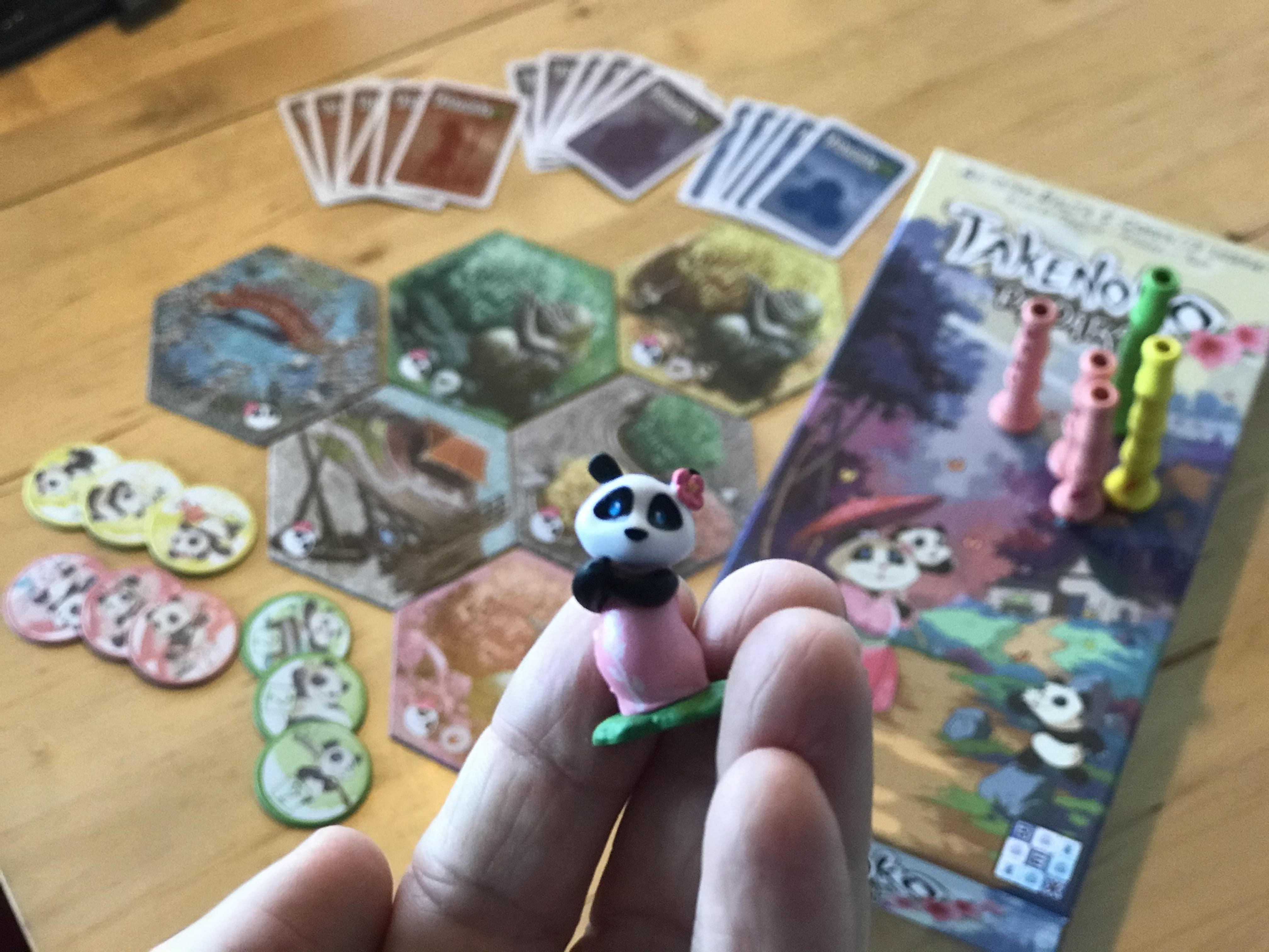 Paní pandová z rozšíření Takenoko