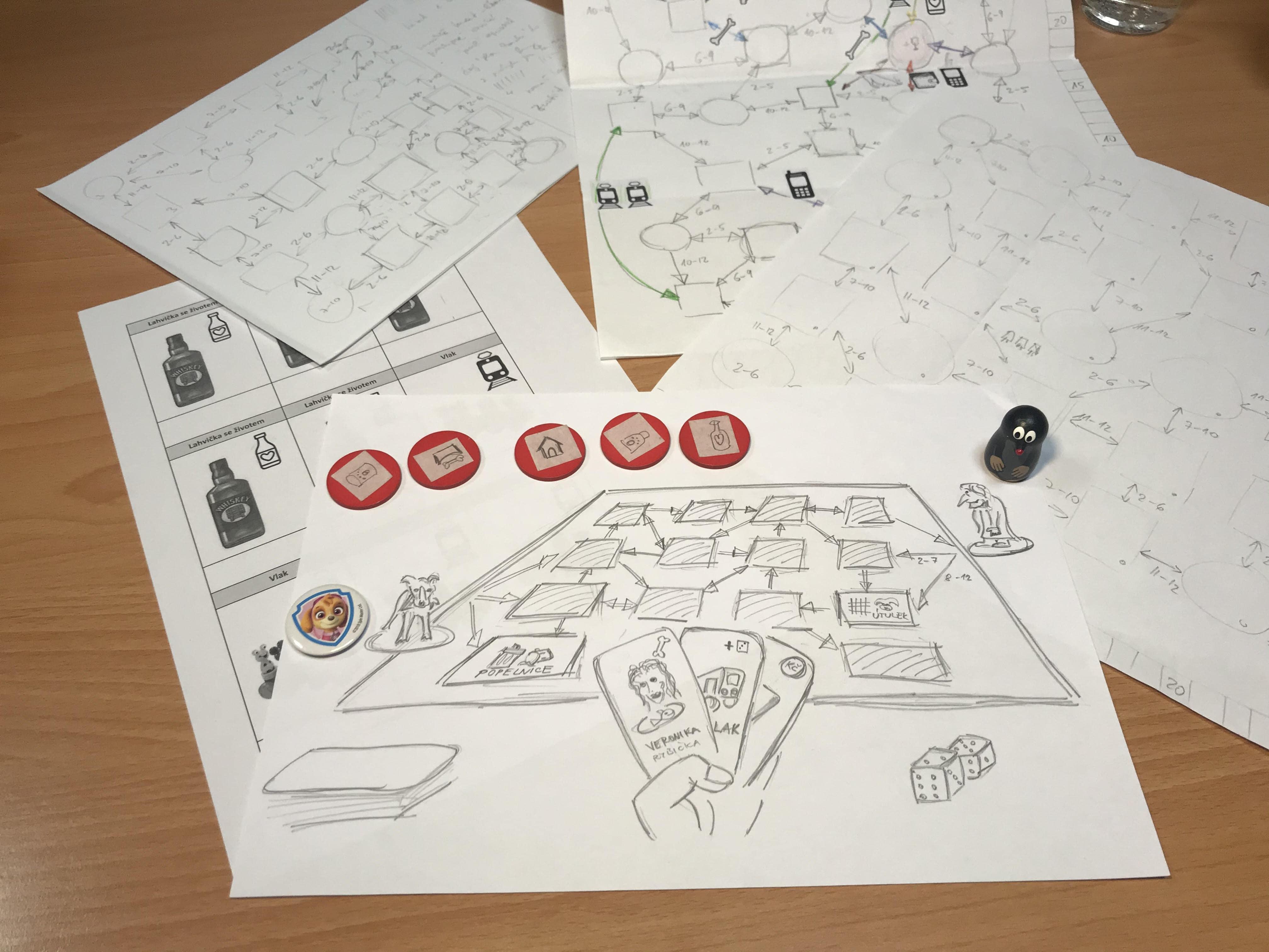 Prototyp hry Gump