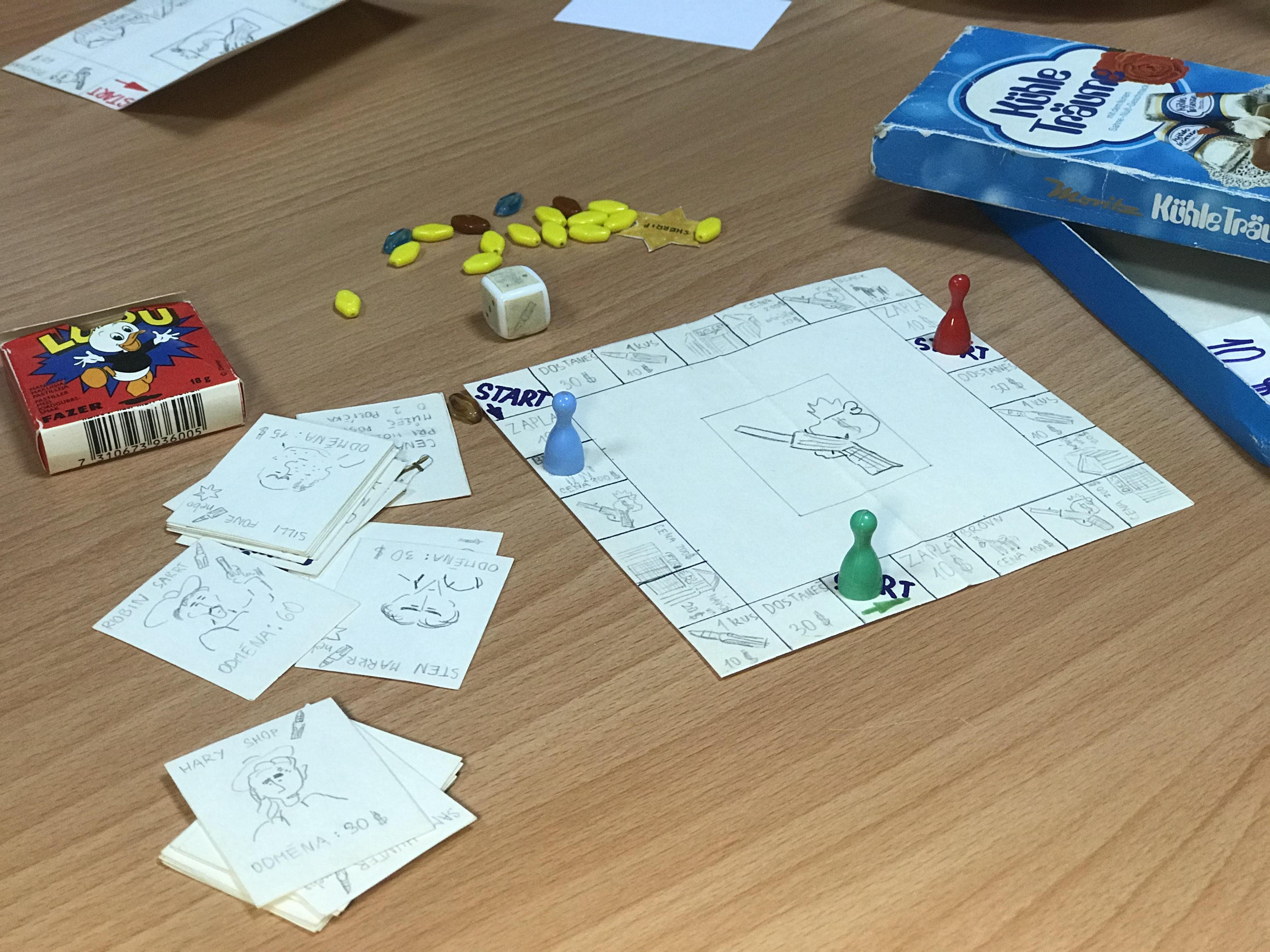 Prototyp kovbojské hry Štěpána Peterky z dětství