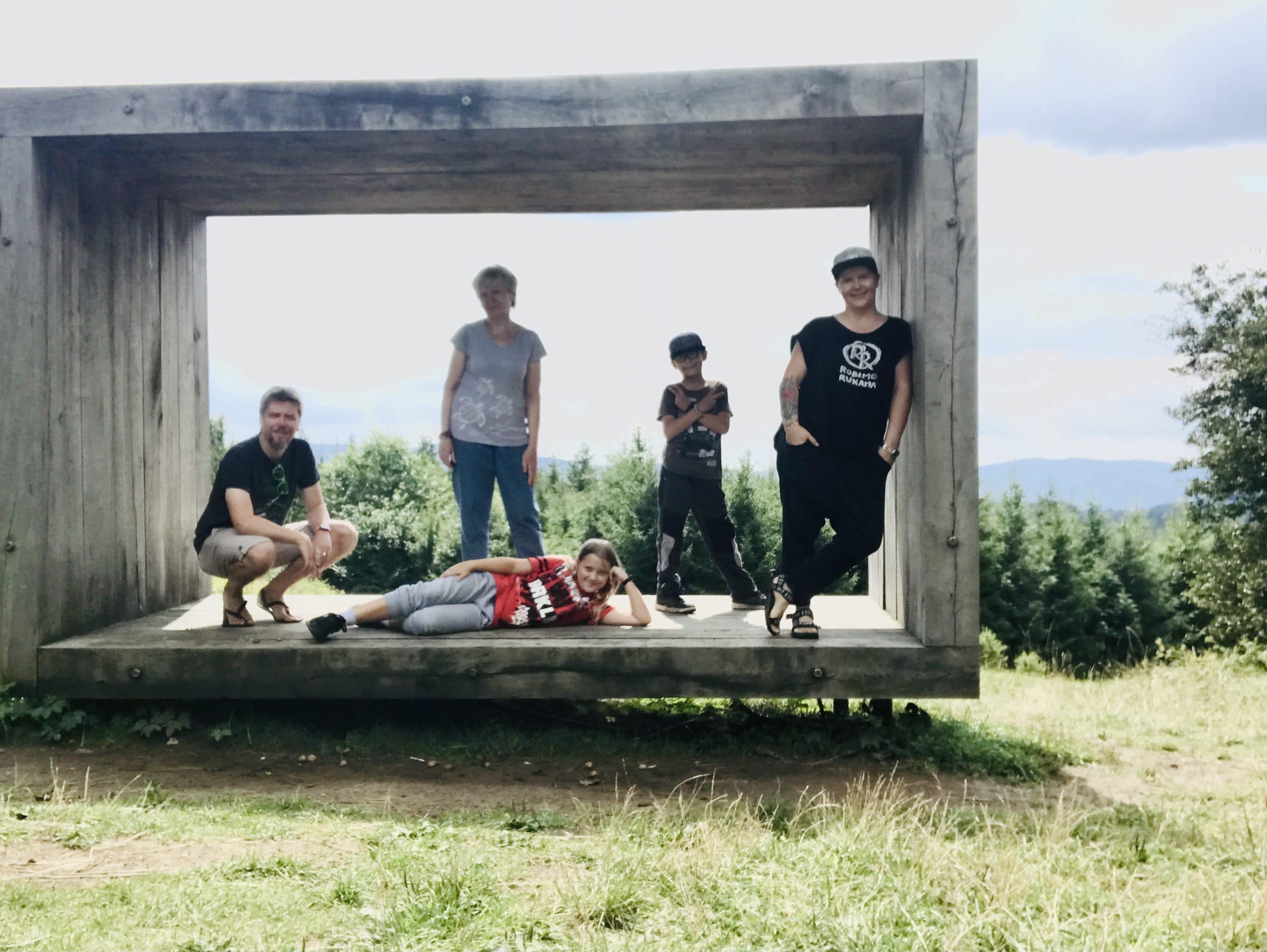 Vyhlídka Durch na Valašsku a 5 Kavek
