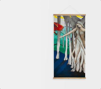 Wood Poster Hanger Frame