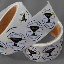 Custom Shaped Roll Stickers
