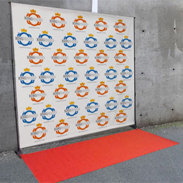 Red Carpet for Step & Repeat