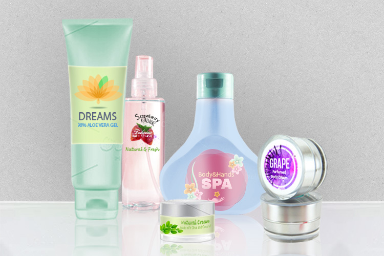 Standard Health And Beauty Labels