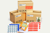 standard shipping and mailing labels