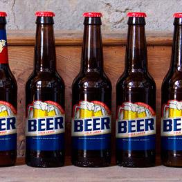 Premium Beer Labels