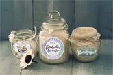 premium candle labels