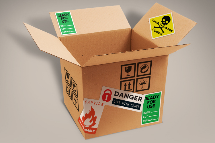Premium Warning Labels