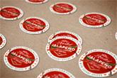 premium round labels