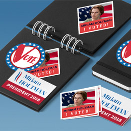 Premium Campaign & Political Stickers