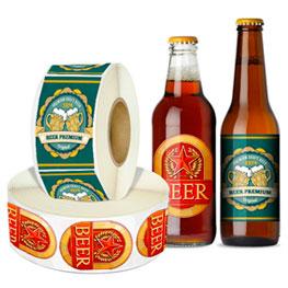 Roll Beer Labels