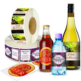 Roll Bottle Labels