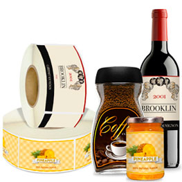 Roll Packaging Label